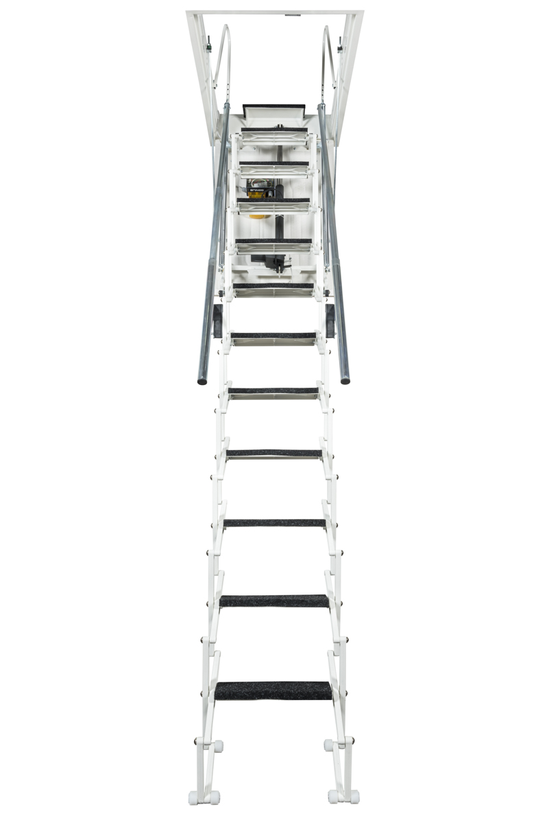 scala retrattile verniciata